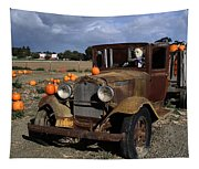 Old Farm Truck Tapestry