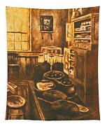 Old Fashioned Kitchen Again Tapestry
