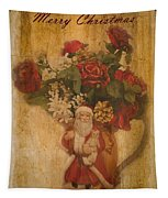 Old Fashioned St Nick Tapestry