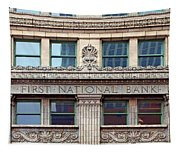 Old First National Bank - Building - Omaha Tapestry