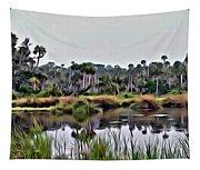 Old Florida Waterway Tapestry