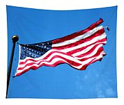 Old Glory - American Flag By Sharon Cummings Tapestry