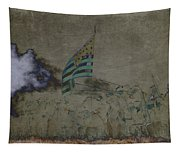 Old Glory Standoff Tapestry