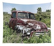 Old Gmc Truck Tapestry