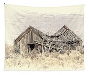 Old House Tapestry