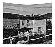 Old House - Memories - Shutters And Boards Tapestry