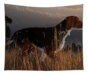 Old Hunting Dog Tapestry