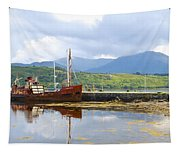 Old Iron Sides Tapestry