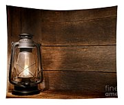 Old Kerosene Light Tapestry