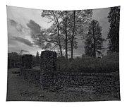 Old Liberty Park Ruins In Spokane Washington Tapestry