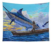 Old Man And The Sea Off00133 Tapestry