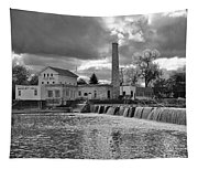 Old Mill And Banquet Hall Tapestry