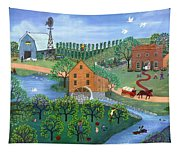 Old Mill Stream Tapestry