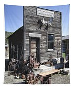 Old Molson Ghost Town Assay Office Tapestry