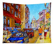 Old Montreal Tapestry