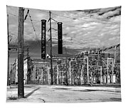 Old New Orleans Power Plant Tapestry