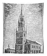 Old North Church, 1775 Tapestry