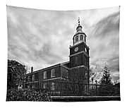 Old Otterbein Church In Black And White Tapestry