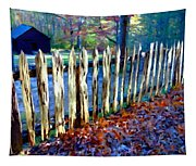 Old Picket Fence Greenbrier School Tapestry