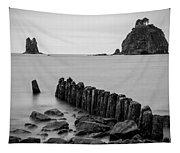 Old Pilings - La Push - Washington - July 2013 Tapestry