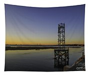 Old Pit Street Bridge To Ravenel Bridge Tapestry