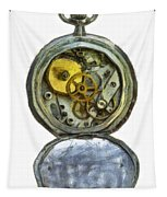 Old Pocket Watch Tapestry