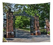 Old Queens Entrance Gate Tapestry