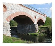 Old Railway Bridge In Silute. Lithuania. Summer Tapestry