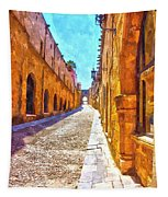The Old Rhodes Town Tapestry