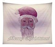 Old Saint Nicholas Greeting Card Tapestry