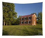 Old Schoolhouse Tapestry