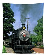 Old Steam Train Tapestry