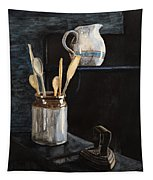 Old Still Life Tapestry