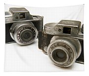 Old Toy Cameras Tapestry