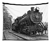 Old Trains Tapestry