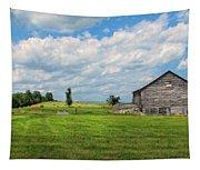 Old Virginia Barn Tapestry