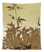 Olive And Brown Haiku Tapestry