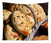 Olive Bread Tapestry