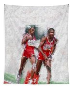 Olympic Heros Tapestry