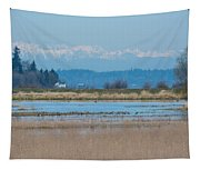 Olympic View Tapestry