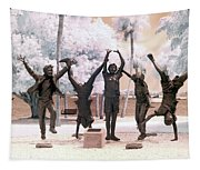 Olympic Wannabes Sculpture By Glenna Goodacre Near Infrared Tapestry