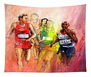 Olympics 10000m Run 01 Tapestry