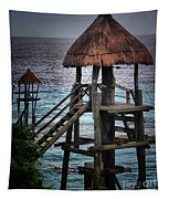 On 2 -ready-hut Hut Tapestry