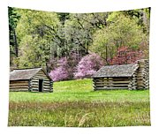 On A Hill At Valley Forge Tapestry