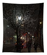 On A Walk In The Snow - Grants Pass Tapestry