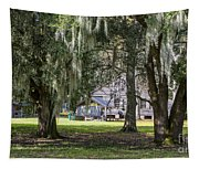 On Destrehan Plantation Tapestry