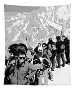 On Mount Blanc Tapestry