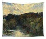 On The Greta Yorkshire 1890 Tapestry