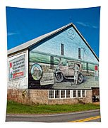 On The Lincoln Highway Tapestry
