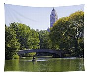 On The Pond - Central Park Tapestry